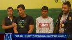 Capturan a peligrosos 'bujieros' que asaltaban en Surquillo - Noticias de patos