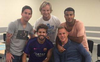 Messi se quejó del doping que le impidió ir a despedida de Xavi