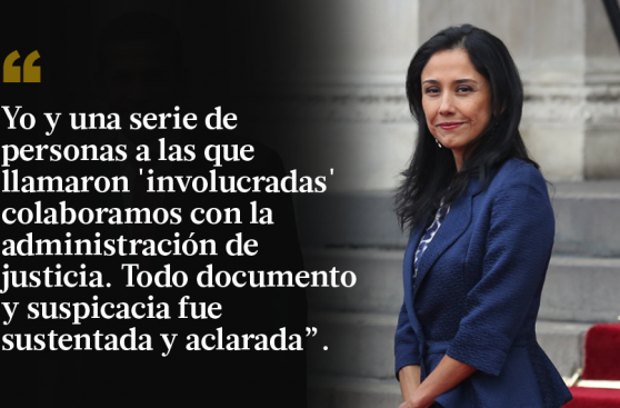 Nadine Heredia se defiende: 10 frases de su mensaje en Facebook