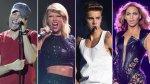 Enrique Iglesias y 10 accidentes de famosos en los escenarios - Noticias de justin bieber