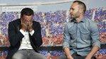 El emotivo discurso de Iniesta que hizo llorar a Xavi Hernández - Noticias de andrés iniesta