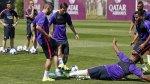 Barcelona realizó último entrenamiento previo al viaje a Berlín - Noticias de andrés iniesta