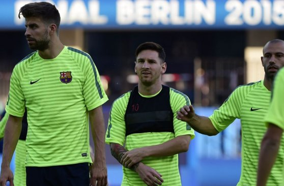 Champions League: Barcelona entrenó en estadio de la final