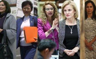 Nadine y otras primeras damas con vocación de compartir poder