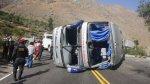 Un muerto y siete heridos por choque entre ómnibus y camión - Noticias de pichanaki