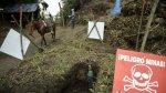 Colombia: caminando al colegio entre minas antipersonas [VIDEO] - Noticias de cártel de medellín
