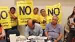 Paracas protestó contra obras en puerto [FOTOS] - Noticias de ong mundo azul