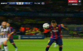 Barcelona vs. Juventus: ¿Estuvo bien anulado gol a Neymar?