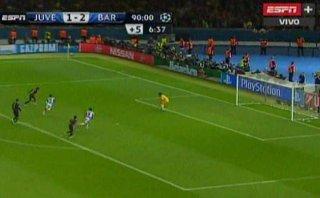 Neymar y el gol que le dio la Champions League a Barcelona