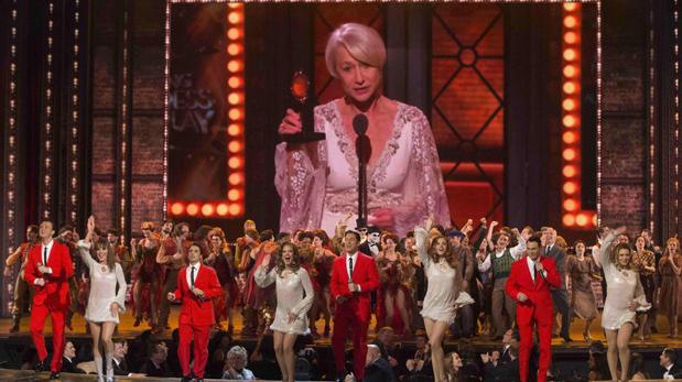 Helen Mirren recibió el premio Tony por su papel en la obra