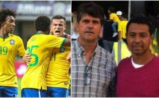 Nolberto Solano 'espió' a Brasil en amistoso ante México