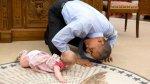 """Barack Obama se convirtió en el """"niñero"""" de la Casa Blanca - Noticias de pete souza"""
