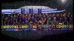 Barcelona: festejo en el Camp Nou del segundo triplete (FOTOS) - Noticias de camp nou