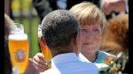 Obama y Merkel, entre salchichas y cervezas en Los Alpes - Noticias de trajes típicos