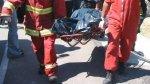 Choque en vía Chiclayo - Tumán dejó un fallecido y 12 heridos - Noticias de tumán