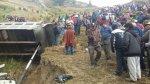 Caída de volquete a abismo deja 18 muertos en Huánuco [FOTOS] - Noticias de hospital hermilio valdizán