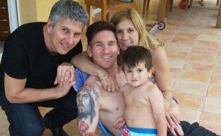 Lionel Messi se relaja con su familia antes de la Copa América