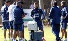 Selección argentina realizó primer entrenamiento en La Serena