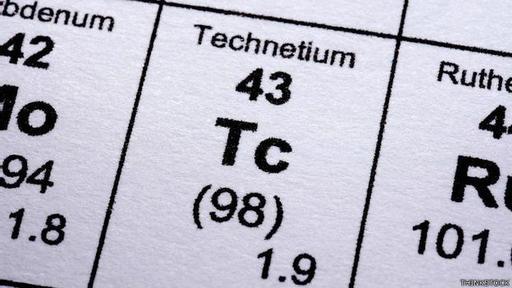 Es el elemento número 43 de la tabla periódica.