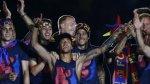 ¿Neymar ebrio? Así celebró triplete en el Camp Nou (VIDEO) - Noticias de camp nou