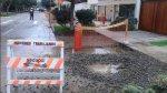 Aniego en San Isidro fue provocado por trabajos municipales - Noticias de sedapal