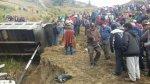 Accidente en Huánuco: piden prisión preventiva para chofer - Noticias de placas de rodaje