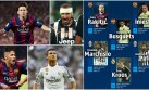 Champions: diez jugadores del Barcelona en equipo ideal UEFA