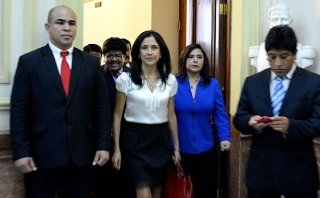 Nacionalistas saludan fallo del PJ favorable a Nadine Heredia