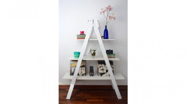 Dale una vida diferente a las escaleras de madera - Escalera de madera de pintor ...
