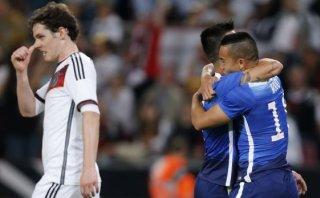Alemania cayó 2-1 ante Estados Unidos en amistoso