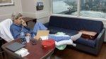John Kerry tuitea foto desde el hospital tras fractura de fémur - Noticias de mohammad javad zarif