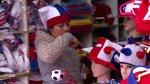 Hinchas chilenos, listos para la Copa América [VIDEO] - Noticias de maradona