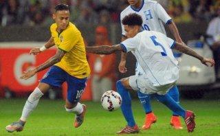 Brasil venció 1-0 a Honduras con Neymar solo durante 45 minutos
