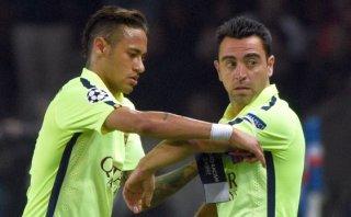 """Xavi a Neymar: """"Tiene que reflexionar sobre cómo debe actuar"""""""