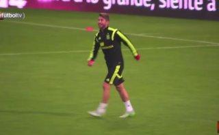Sergio Ramos y un tremendo gol de 'tijera' a Casillas (VIDEO)