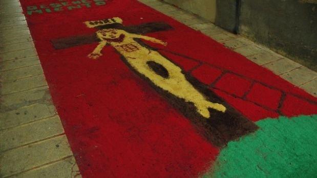 Nació un nuevo Ecce Homo en una procesión en España