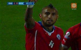Chile vs. Ecuador: primer gol de la Copa tras dudoso penal