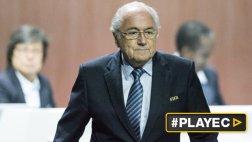 Unión Europea pide la salida inmediata de Blatter de la FIFA