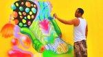 Grafitero se hizo millonario por pintar la sede de Facebook - Noticias de david choe
