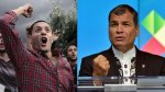 """Correa denuncia """"conspiración"""" luego de 3 días de protestas - Noticias de belgica rodas"""