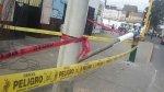 Rímac: mujer de 60 años herida al caerle un poste de telefonía - Noticias de accidente tacna