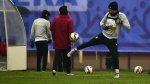 Selección peruana soportó baja temperatura en primera práctica - Noticias de clima frío