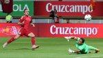 España venció 2-1 a Costa Rica en amistoso internacional - Noticias de jose luis gamboa