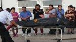 Morgue de Huacho colapsó con víctimas del alud de Churín - Noticias de rocio morales sanchez