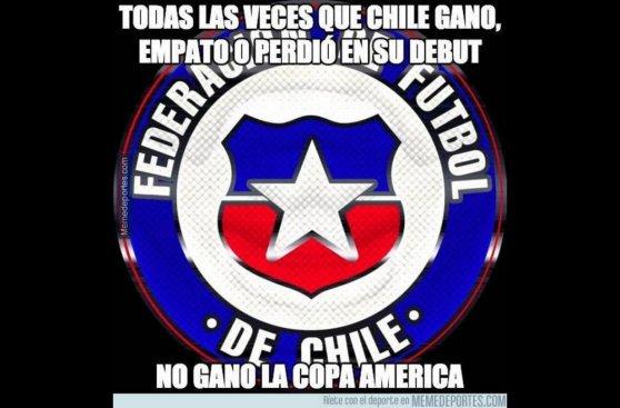 Copa América: los memes de la victoria de Chile sobre Ecuador