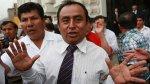 Fiscal acusa a Gregorio Santos de recibir coima de S/.100 mil - Noticias de elmer medina medina