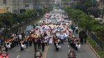 Ciudadanos y policías marcharon contra la violencia [FOTOS] - Noticias de violencia escolar