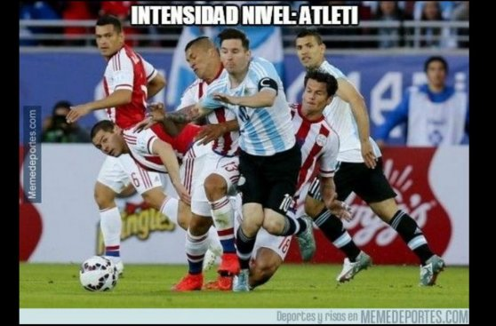 Argentina empató con Paraguay y los memes se agarran con Messi