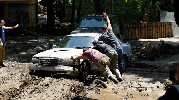 En mayo del 2012, cinco personas personas perdieron la vida en Tiflis a causa de las inundaciones provocadas por las intensas lluvias. (Foto: Reuters)