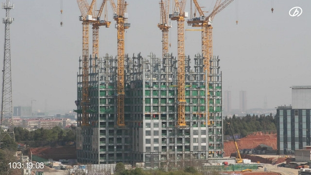 China c mo construir un edificio de 57 pisos en 19 d as for Videos de construccion de edificios